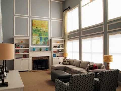 Two Story Family Room Decorating Ideas Youtube