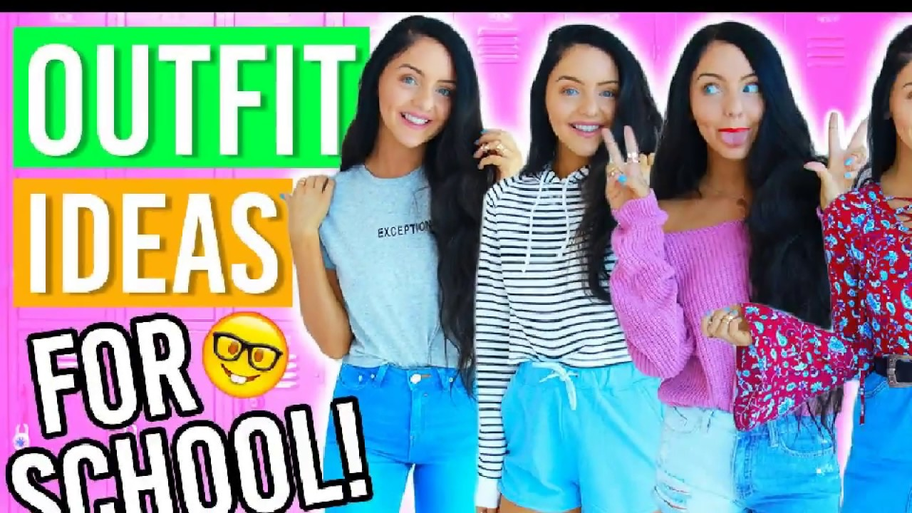 Cute Comfy Outfits For School Back To School Outfits Ideas 2018