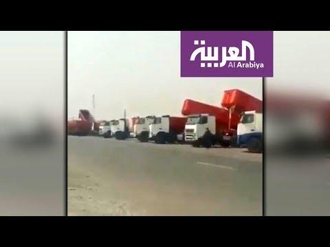 إضراب سائقي الشاحنات في إيران يتواصل