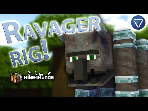 RAVAGER RIG! ~Mine Imator 1.2.4 And Above! [Free Download]