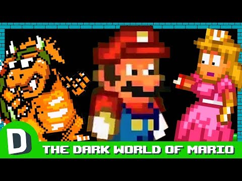 THE DARK WORLD OF MARIO DORKLY BITS
