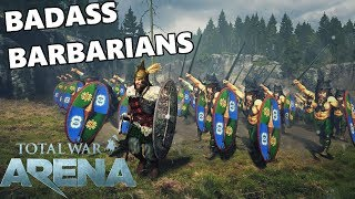 Total War ARENA - Badass Barbarian Infantry!
