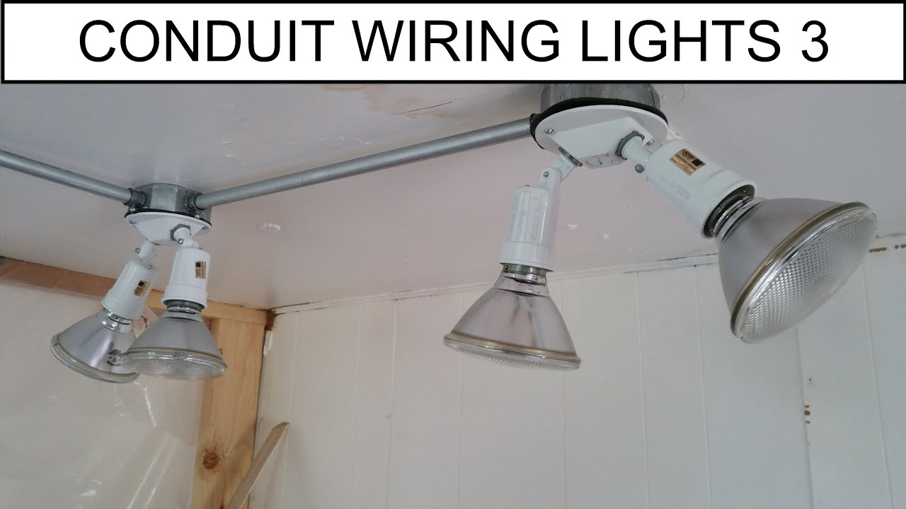 Diy How To Simple Wiring Light Addition In Conduit