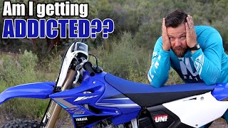 2nd day on Yamaha YZ125X - I WAS WRONG !