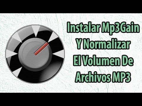Normalizar El Volumen De Archivos Mp3 E Instalar Mp3gain