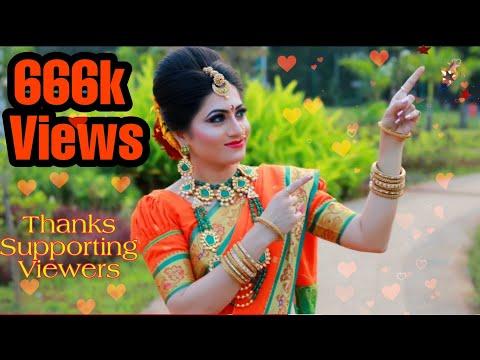 Maharashtrian Bridal Makeup / Nauvari Saree Look By Kamini Bhoir Makeup Artist Cont.9923292223 Thane
