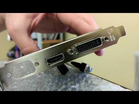 Dell Optiplex 3050 SFF Graphics Card Installation (6th Gen i5)