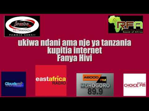 Sikiliza radio - Listen to Tanzania Radios from anywhere and on your mobile phone.