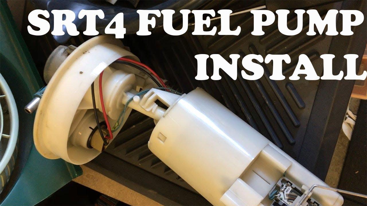 Dodge Neon Fuel Pump Diagram Wiring Diagrams Walbro Srt4 Install 255 Lph Youtube Rh Com 1999 2000