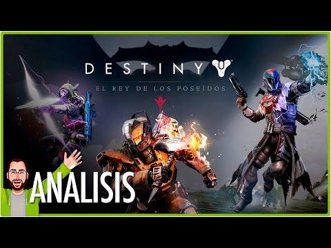 Destiny: El Rey de los Poseídos | Review - Análisis | Jota Delgado
