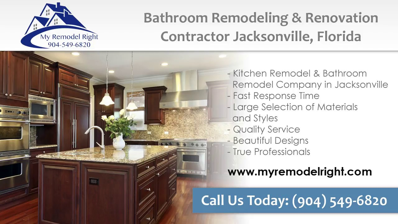 kitchen remodel jacksonville fl 904-549-6820 - youtube