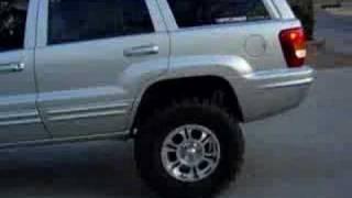 lifted jeep wj