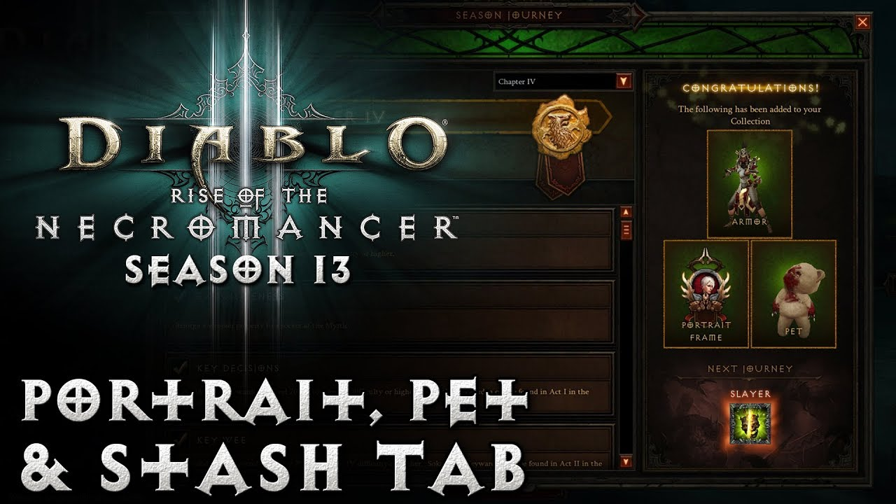 diablo 3 season 13 start time