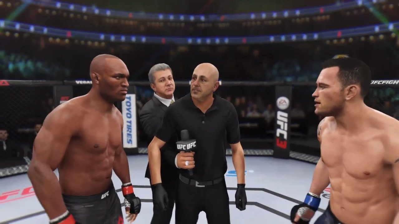 Kamaru Usman Vs Colby Covington Ea Sports Ufc 3 Cpu Vs Cpu Youtube