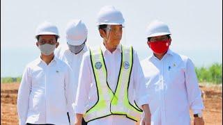 Presiden Jokowi Tinjau Lahan Kawasan Industri Batang, 30 Juni 2020