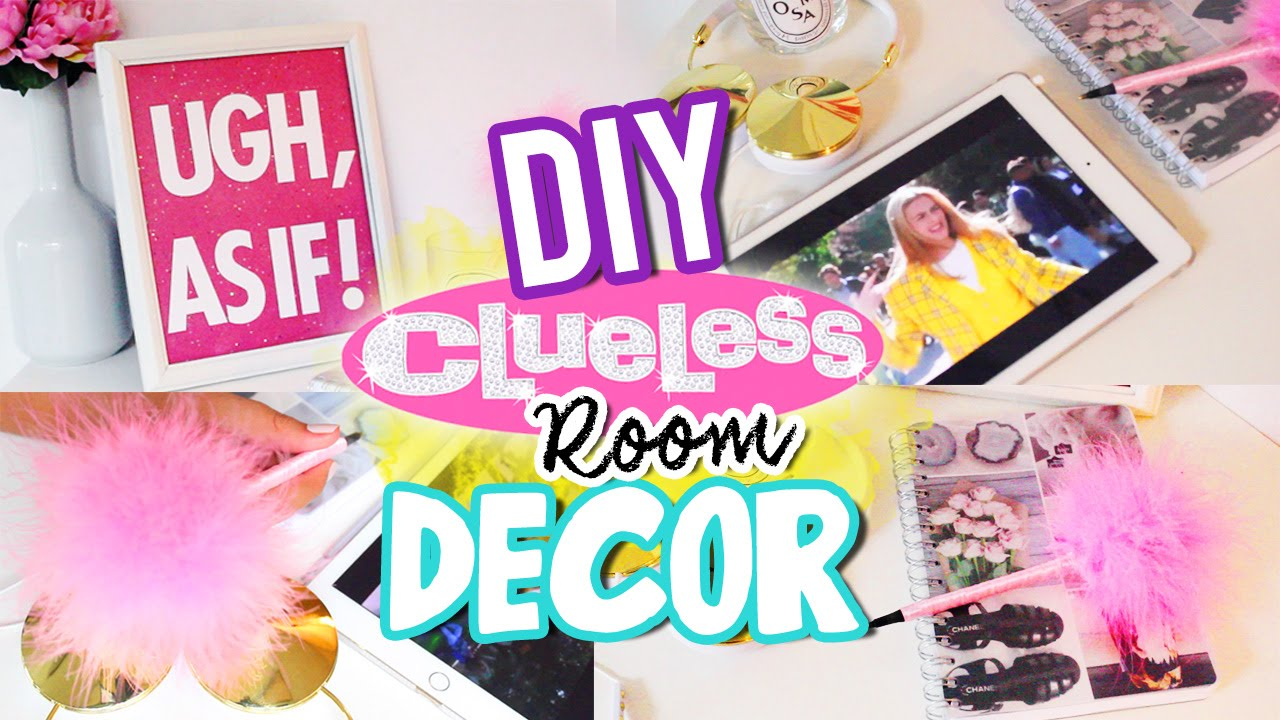 Diy Clueless Pen Amp Wall Decor Room Decor Youtube