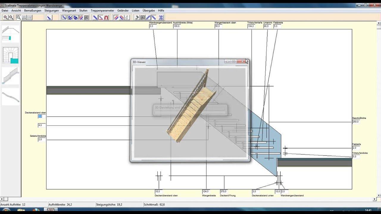 Software progettazione scale gratis for Progettazione 3d gratis