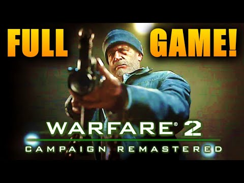 Modern Warfare 2 Remastered Full Campaign Gameplay Walkthrough No Commentary All Missions (COD MW2)