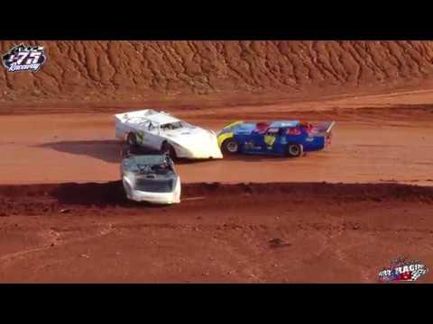 B-Sportsman Late Models @ I-75 Raceway   Feature (11-24-19) - dirt track racing video image