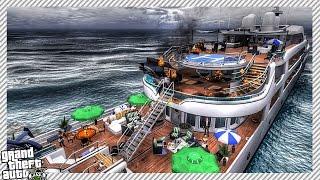 Yacht on FIRE!! - GTA 5 MOD