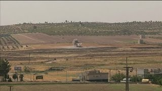 """الجيش التركي ينزع ألغاما تركها تنظيم """"الدولة الإسلامية"""" في محيط جرابلس"""