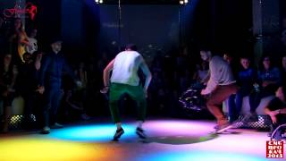 Siberian Dancehall Contest 2015 - Final - Dancehall King - Ruslan Maliev vs. Mishe11