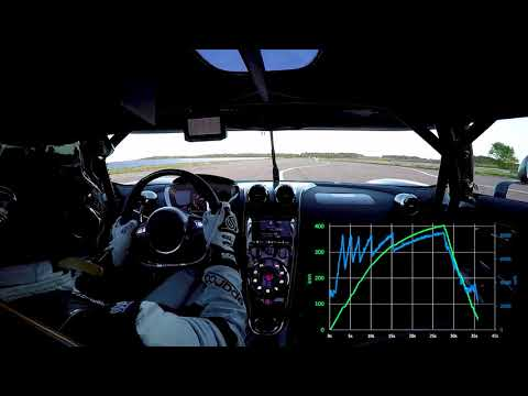 Koenigsegg Agera RS 0-400-0 BEATS BUGATTI CHIRON