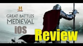 Great Battles Medieval Review: iPad GAMEPLAY/REVIEW