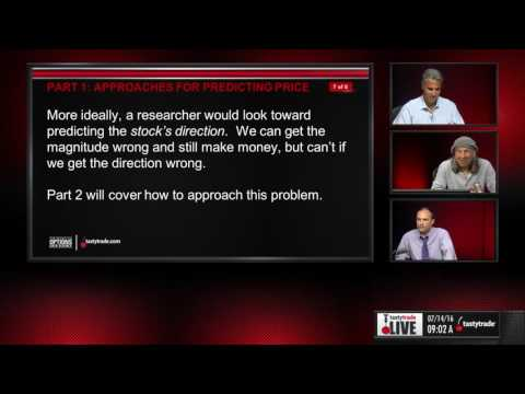 Predicting Stock Price with Machine Algorithms (Part 1) | Skinny on Options: Data Science