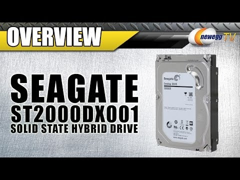 """Seagate 2TB 7200 RPM 3.5"""" Desktop Solid State Hybrid Drive Overview - Newegg TV"""