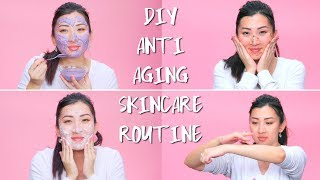 DIY Anti-Aging Skincare Routine At Home