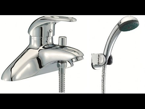 Bath And Shower Taps mixer shower taps thermostatic for bath uk - youtube