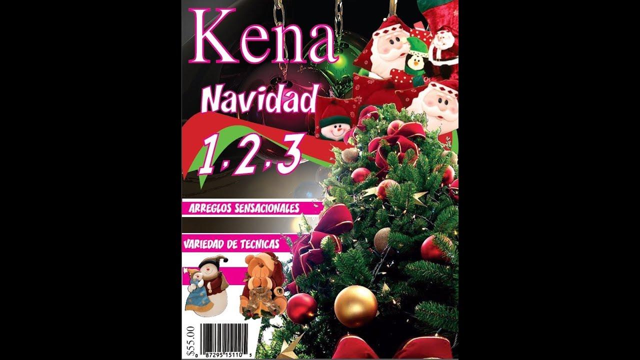 revista kena navidad 123, magazine Christmas manualidades   YouTube