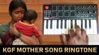 KGF - Mother Sentiment Bgm | Ringtone By Raj Bharath | #Yash #karuvinilenai #TharaganiBaruvaina