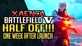 EA's Battlefield V Goes on Sale for Half Price One Week After Launch, What Led To This? | Xaenca