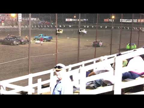 Macon Speedway Faster Pastor Race 2017