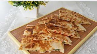 5 Dakikada Kahvaltılık Lavaş Böreği Yapabilirsiniz-Börek Tarifleri-Gurbetinmutfagi
