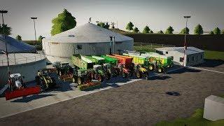 ☆ Kiszonka na Wielką Skale ☆ Extreme - 3 SIECZKARNIE ㋡ Farming Simulator 19