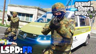 GTA 5 LSPD:FR - MILITÄRPOLIZEI im EINSATZ! - Deutsch - Polizei Mod #90 Grand Theft Auto V