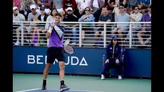 Corentin Moutet vs. David Goffin | US Open 2019 R1 Highlights