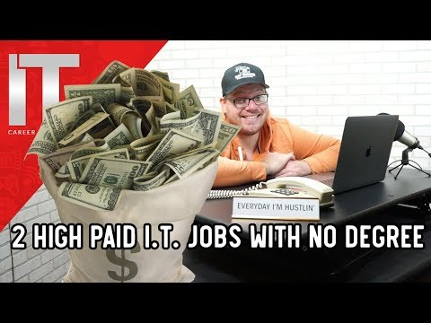 2 High Paying I.T. Jobs – No Degree Required – $100k+