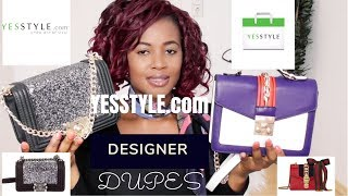 DESIGNER DUPES UNDER $20 FROM YESSTYLE.COM | MIRANDA EJIOGU