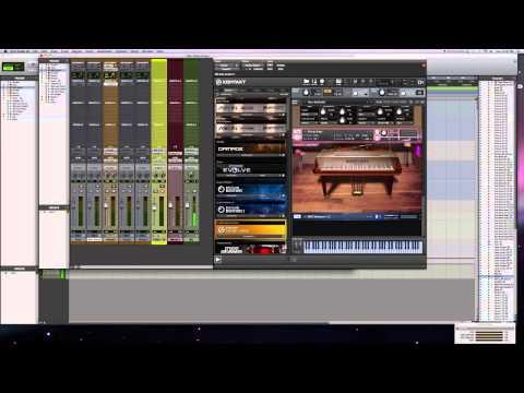 Piano Virtual Instrument Comparison
