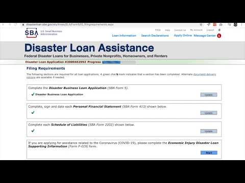 quick-guide:-sba-disaster-loan-application---specific-to-coronavirus-(covid-19)