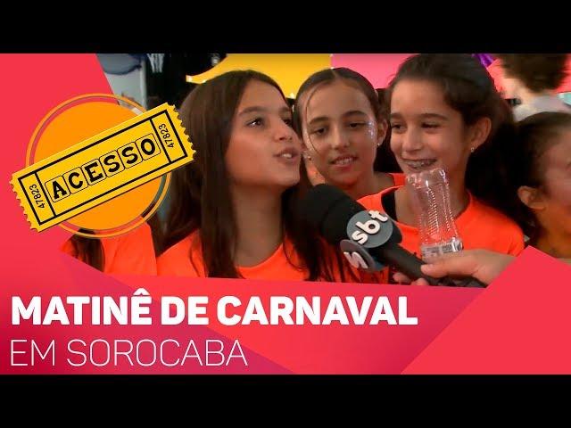 Matinê de Carnaval em Sorocaba - TV SOROCABA/SBT
