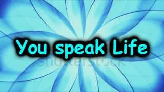 """Speak Life"" TobyMac w/ Lyrics"