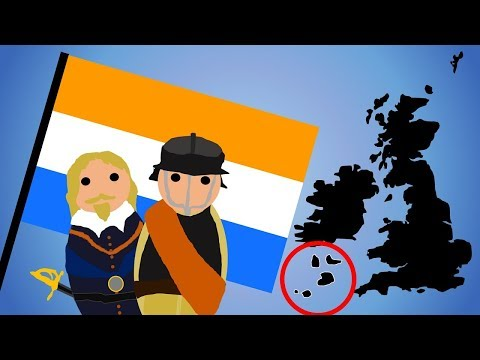 Why were the Dutch at War with the Scilly Isles from 1651 to 1985?