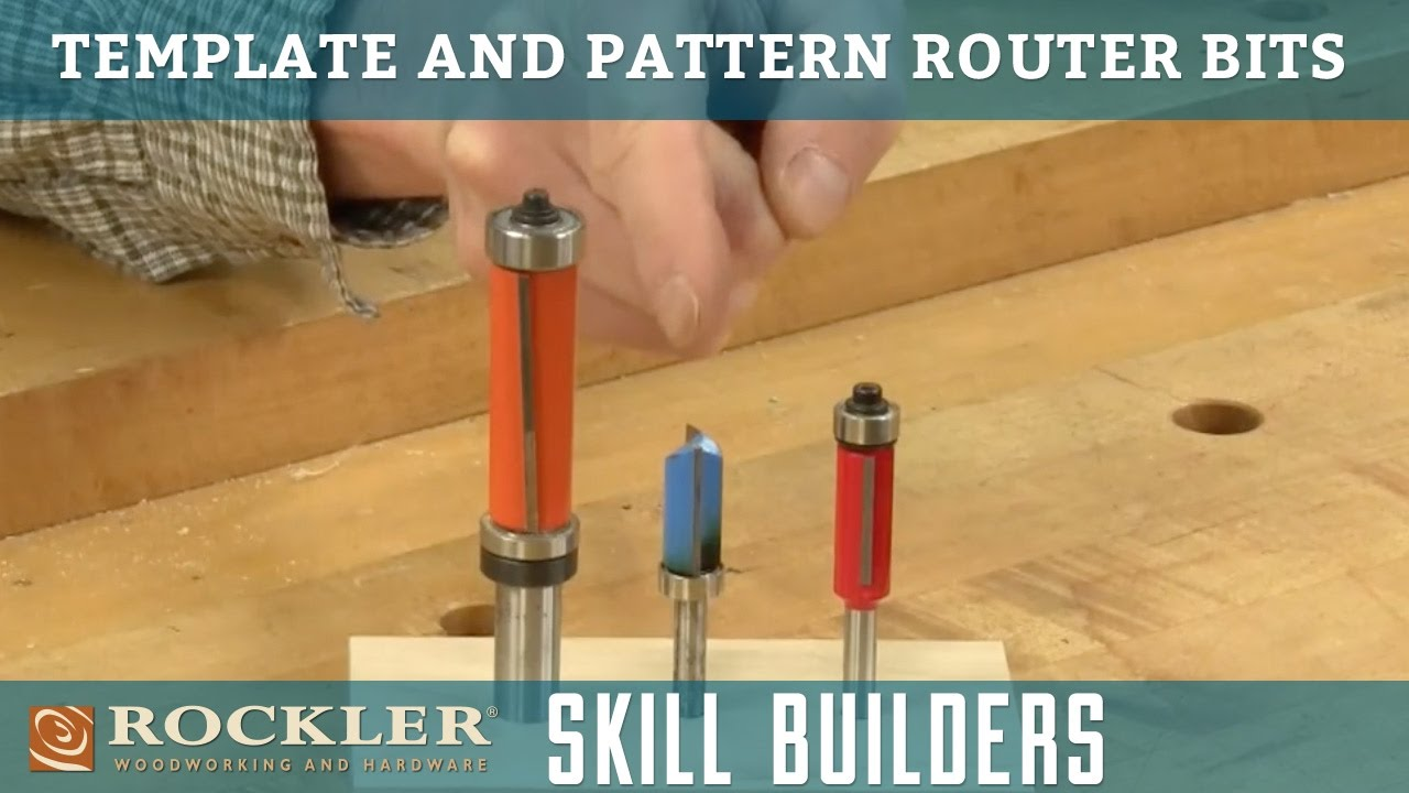 Router Bits For Cutting Templates And Patterns Youtube