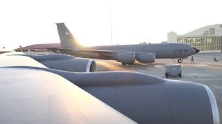 50th Air Refueling Squadron takes first flight
