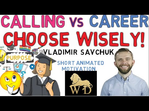 CALLING AND CAREER WHAT YOU SHOULD KNOW || WISDOM FOR DOMINION || A MUST WATCH VIDEO